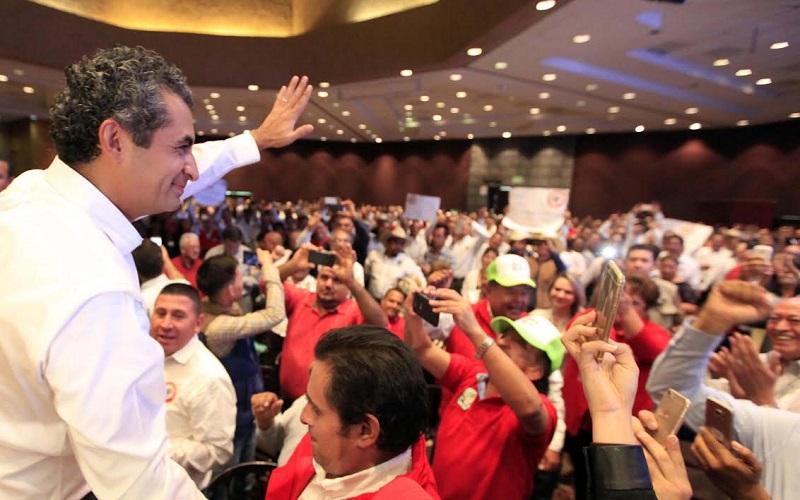 Ochoa Reza exhorta a los priistas de todo el país a reflexionar qué pueden hacer a favor de la unidad del partido y a favor del país