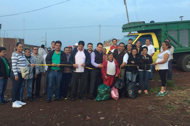 """""""La finalidad de la Ruta Solidaria es fomentar la responsabilidad, solidaridad, y buen manejo de los residuos por parte de los generadores de desechos, que en este caso son los hogares de las colonias"""", detalló Gil Vázquez"""