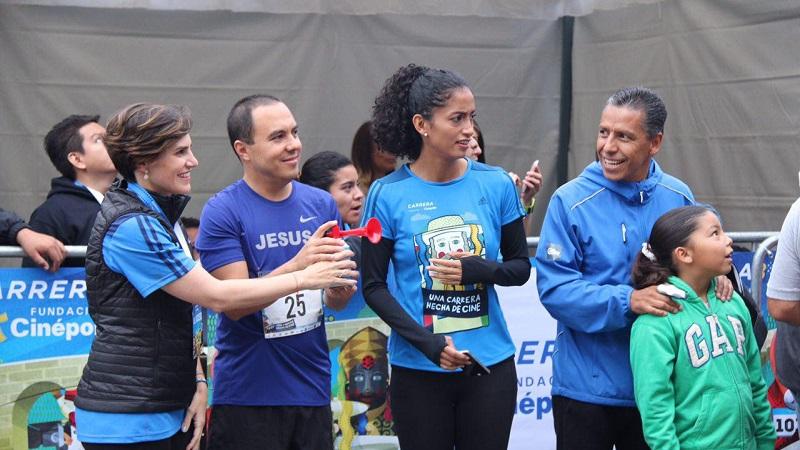 Jesús Ávalos Plata, agradeció a los turistas y visitantes que con motivo de este evento deportivo familiar, tuvieron a bien venir a Morelia
