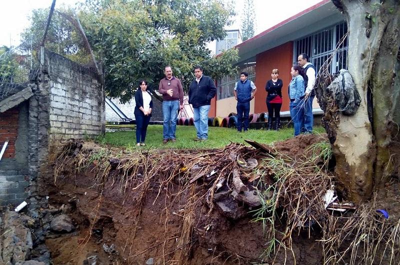 Díaz Chagolla destacó que este Jardín de Niños es uno más de los atendidos a través del programa Escuelas al CIEN