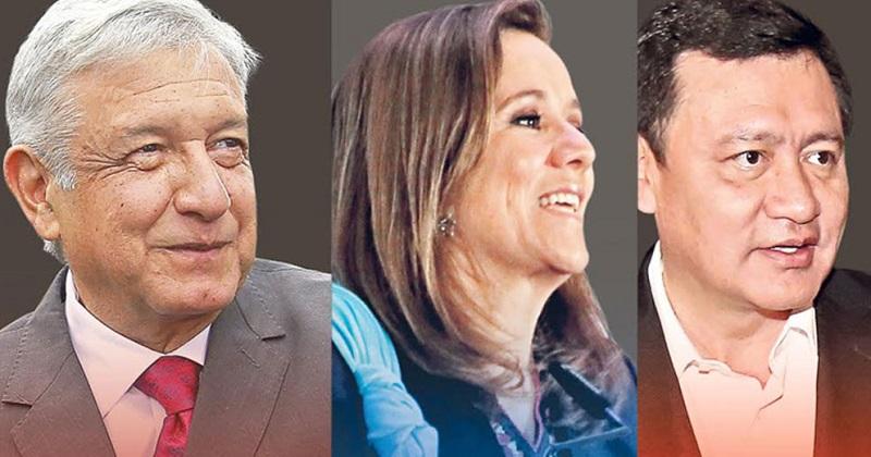 De acuerdo con la encuesta, el secretario de Gobernación, Osorio Chong, es el priista que mejor se desempeña al enfrentar a Zavala y a López Obrador en el careo presidencial, con 22