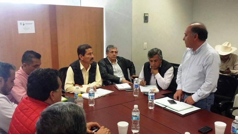 La CNC espera del Gobierno del Estado, el mismo apoyo que Peña Nieto le ha brindado a Michoacán: Luna Morales