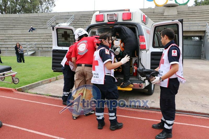 La víctima de estos hechos fue trasladada al Hospital General de Morelia (FOTO: FRANCISCO ALBERTO SOTOMAYOR)