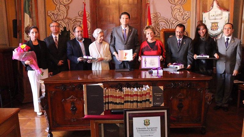 Martínez Alcázar destacó que Morelia será la sede de la 8ª Secretaría Regional de la Organización de las Ciudades del Patrimonio Mundial