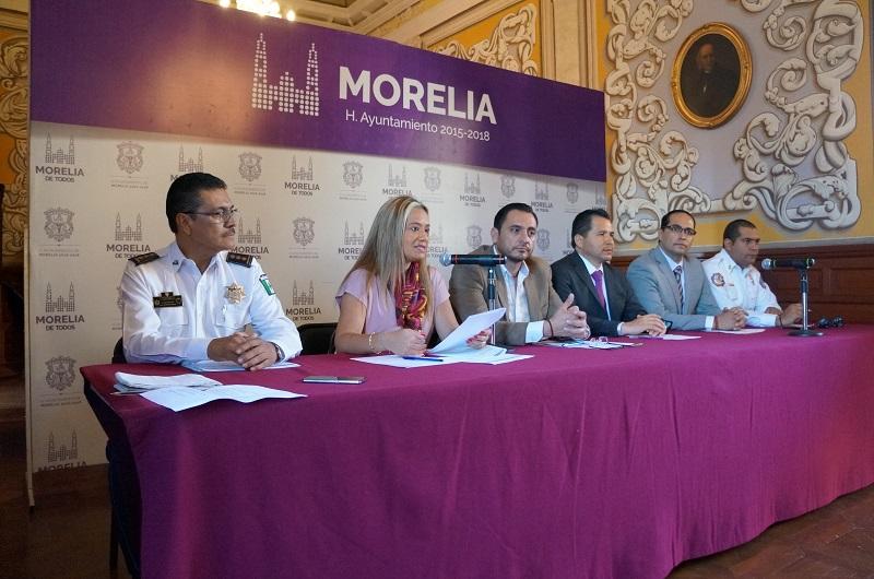 La secretaria de Turismo de Morelia, Thelma Aquique, reiteró la invitación a la ciudadanía para participar en el programa de Fiestas Patrias en el municipio