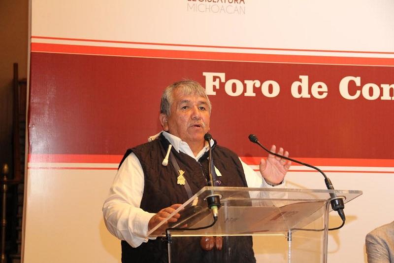 En el evento participaron los diputados Ángel Cedillo y Pascual Sigala