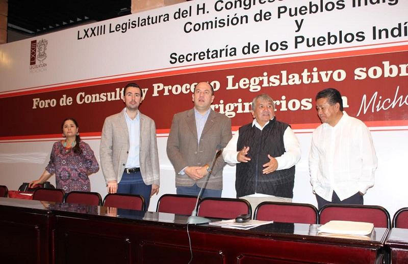 """En su intervención, el consejero presidente Ramón Hernández Reyes, expresó: """"los derechos de los pueblos originarios son derechos político-electorales que no solamente están limitados a las elecciones"""""""