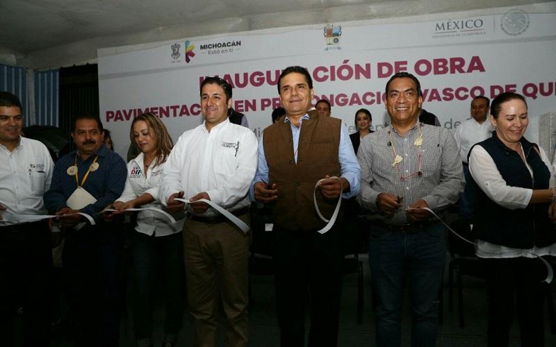 El mandatario estatal se comprometió a dar cumplimiento a los proyectos de la Planta de Tratamiento de Aguas Residuales y a la construcción del nuevo Centro de Salud