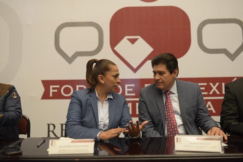 Esta es una de las conclusiones en los foros realizados en varios puntos del estado para reflexionar en torno a la Reforma Electoral: González Sánchez