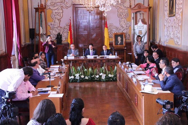En sesión extraordinaria se aprobó la modificación al Programa Anual de Inversión por un monto de 2 millones 500 mil pesos para obras que beneficien a los morelianos