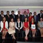 Silva Tejeda les transmitió un saludo y un reconocimiento por su trabajo de parte del presidente del CEN, Ochoa Reza