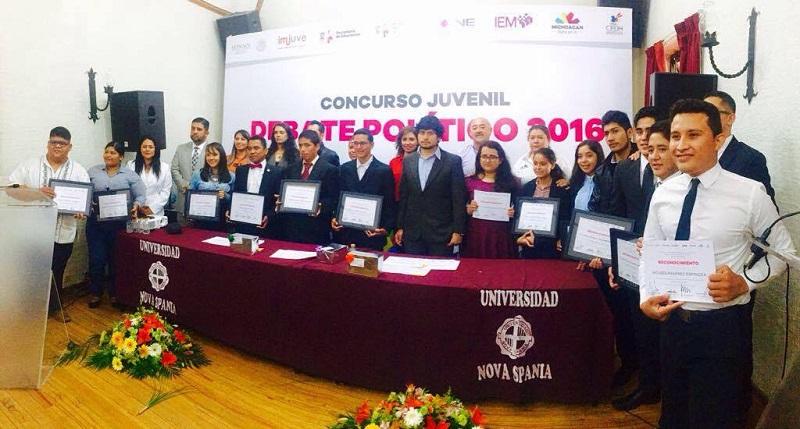 Bugarini Torres recordó que el compromiso de las instituciones es generar espacios que fomenten el dialogo y la reflexión