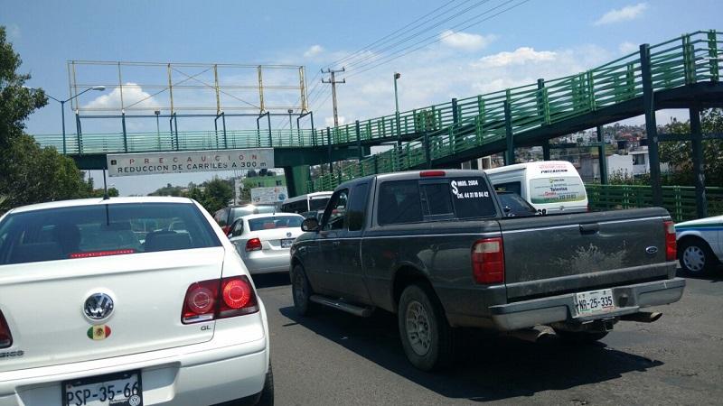 Se recomienda a automovilistas, trabajadores del volante y usuarios del transporte público tomar las debidas precauciones (FOTOS: FRANCISCO ALBERTO SOTOMAYOR)