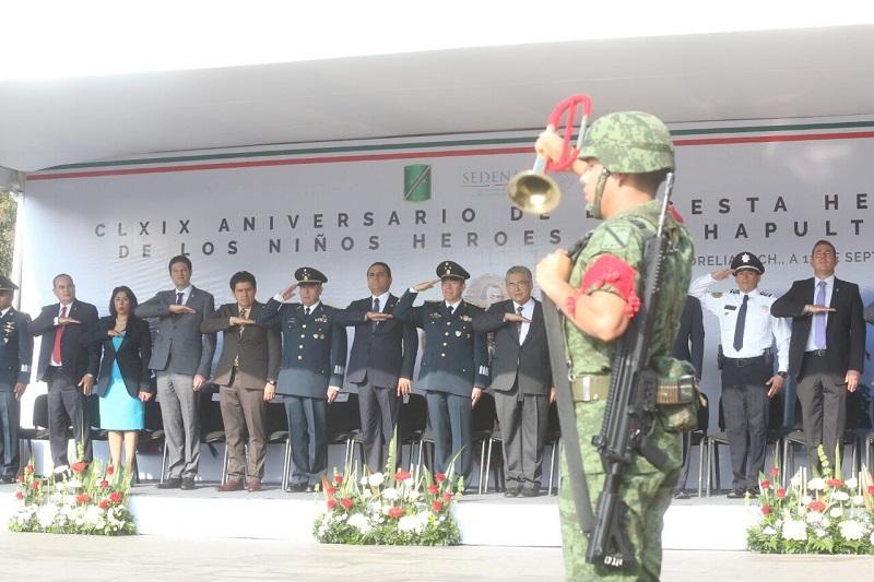 Destacó que Michoacán es una entidad que avanza con paso firme en el fortalecimiento de las instituciones y la seguridad de sus habitantes