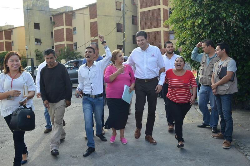 """""""Somos un gobierno de todos los morelianos"""", afirmó Martínez Alcázar"""