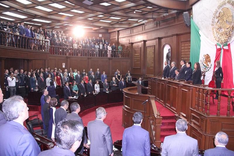 Legisladores locales se comprometieron con el desarrollo de Michoacán