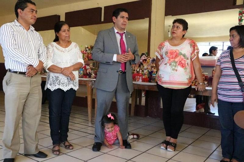 Las giras de trabajo por las distintas colonias de la capital también corresponden al seguimiento de campaña de afiliación del Partido Verde Ecologista de México