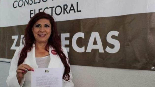 """El acto cuando María Luévano fue nombrada """"promotora de la soberanía nacional"""", resultó un acto anticipado de campaña de acuerdo con los magistrados electorales"""