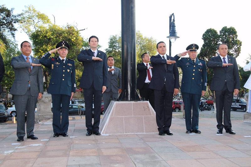 Martínez Alcázar se mostró complacido por iniciar con los actos conmemorativos a esta importante fecha para los mexicanos
