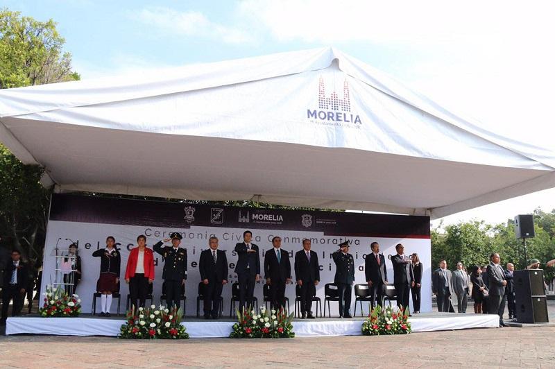 El Alcalde, Alfonso Martínez, asistió al Acto Conmemorativo del 206 Aniversario del Inicio de la Independencia de México