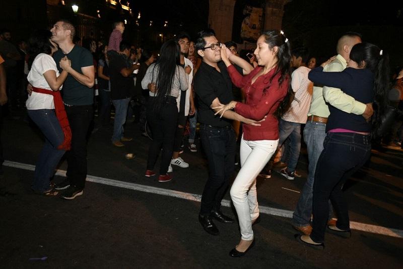 El evento formó parte de las fiestas patrias programadas para este mes en la capital michoacana
