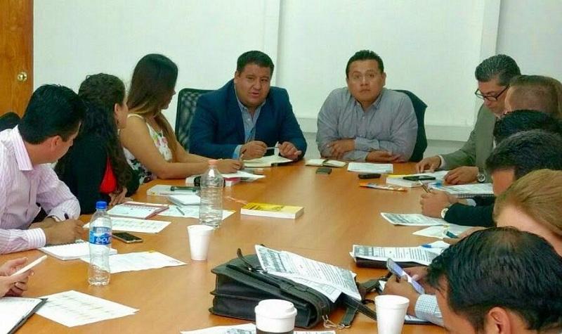 El legislador zacapense señaló que como coordinador una de sus prioridades será mantener una estrecha comunicación y coordinación con el Comité Estatal del PRD