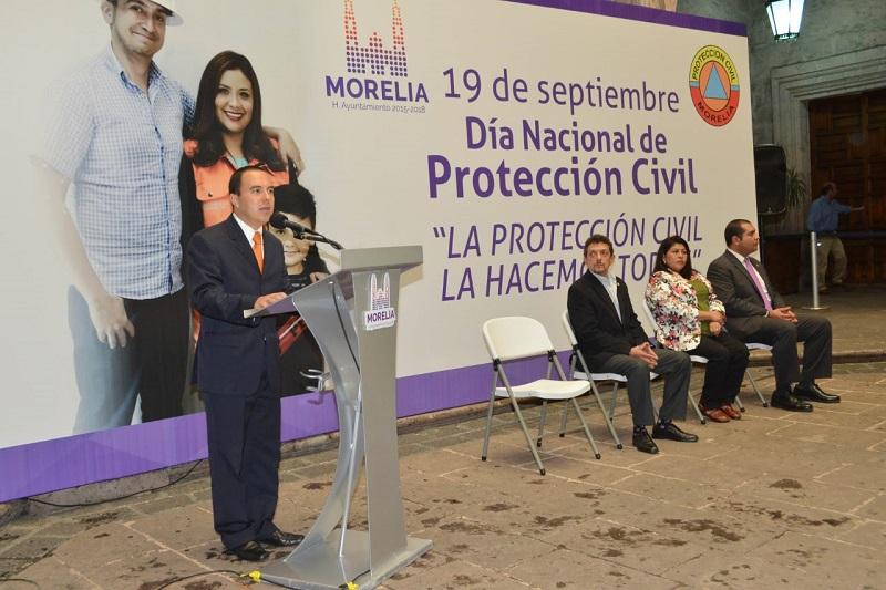 Fortalece el Ayuntamiento de Morelia coordinación para salvaguardar integridad de morelianos: Jesús Ávalos