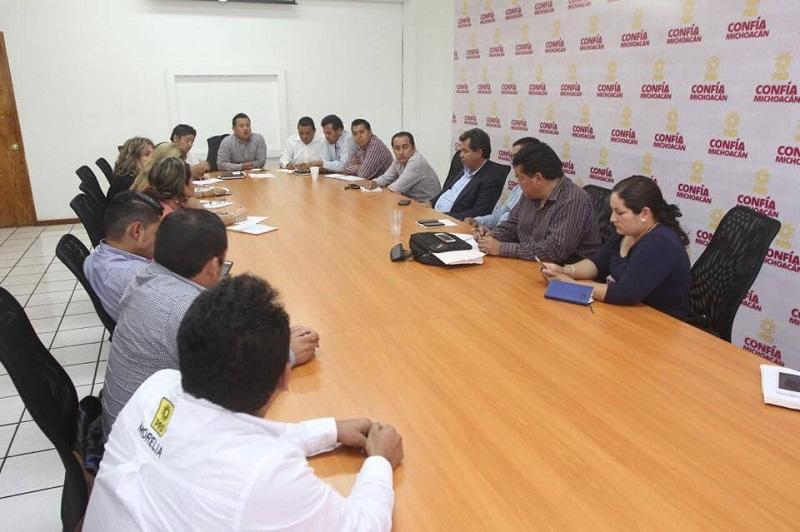 Los miembros del Comité Ejecutivo Municipal de Morelia se pronunciaron por realizar una revisión del trabajo desempeñado de cada uno de sus miembros