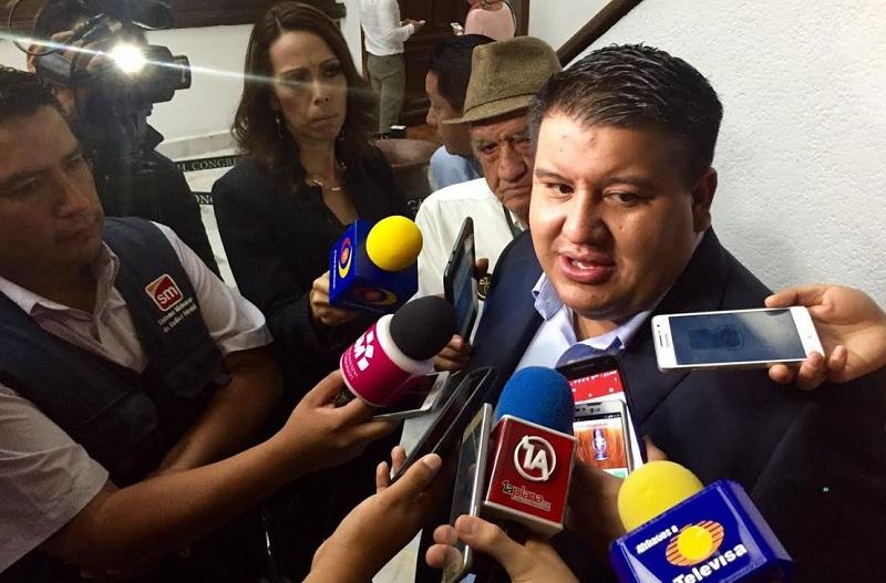 Puebla Arévalo destacó que dentro del proyecto de Ley de Ingresos 2017, que este martes entregó el ejecutivo al legislativo, no se contemplan nuevos impuestos