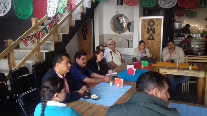 Rivera García, expuso a detalle las acciones, proyectos y programas que desde la oficina que dirige, ofrece para abonar a mejorar la productividad y funcionalidad de los negocios y empresas locales
