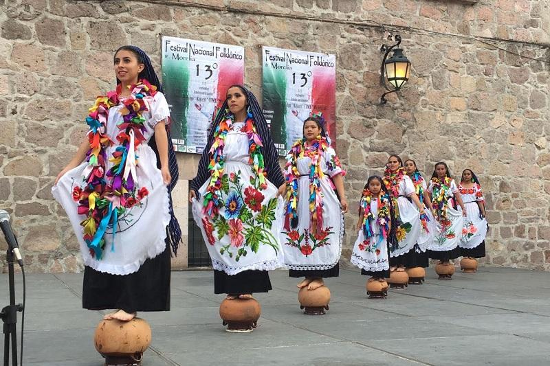 Con estas presentaciones el Cobaem mostró la riqueza cultural de México y Michoacán