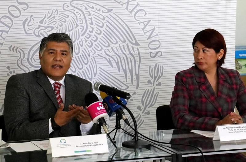 Sierra Arias, indicó que entre las labores importantes está poner en marcha las acciones para implementar en tiempo y forma la Ley Nacional del Sistema Integral de Justicia Penal para Adolescentes y la Ley Nacional de Ejecución Penal