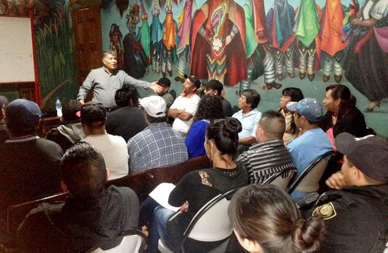Los asistentes manifestaron su interés de continuar recibiendo capacitación sobre el tema