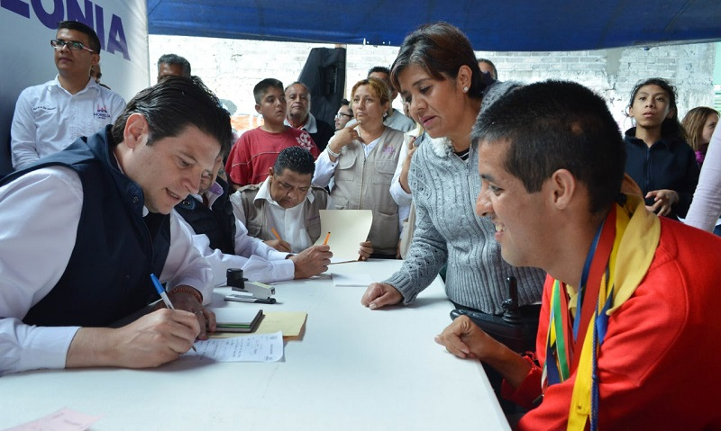 Martínez Alcázar encabezó una edición más del programa Presidente en tu Colonia