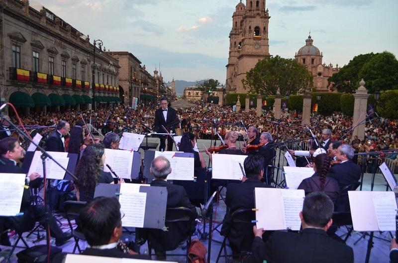 Thelma Aquique Arrieta, informó que la fiesta de los morelianos dará inicio en punto de las 19:00 horas sobre la Avenida Madero