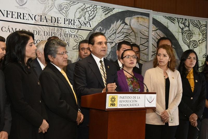 Anuncia que habrá una comisión permanente de funcionarios estatales encabezados por el secretario de Finanzas, Carlos Maldonado, para evitar una disminución en las participaciones que afecte de manera importante al estado