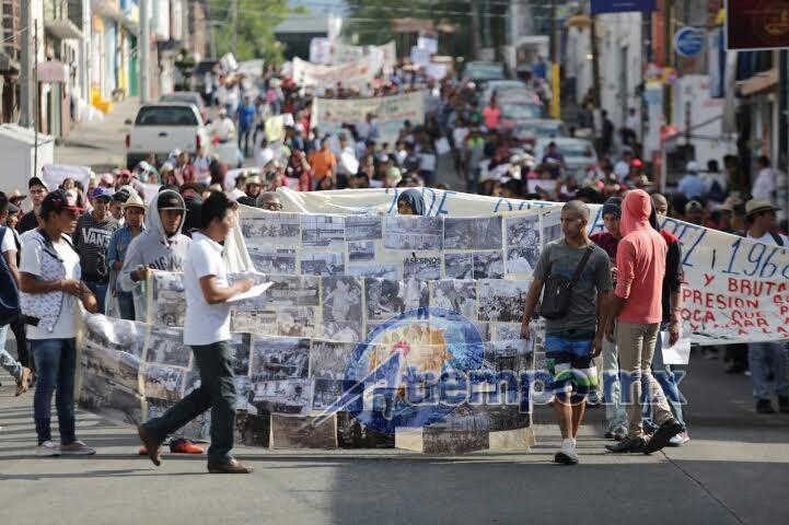 """Se cumplieron 48 años de la denominada """"Matanza de Tlatelolco"""" (FOTO: FRANCISCO ALBERTO SOTOMAYOR)"""