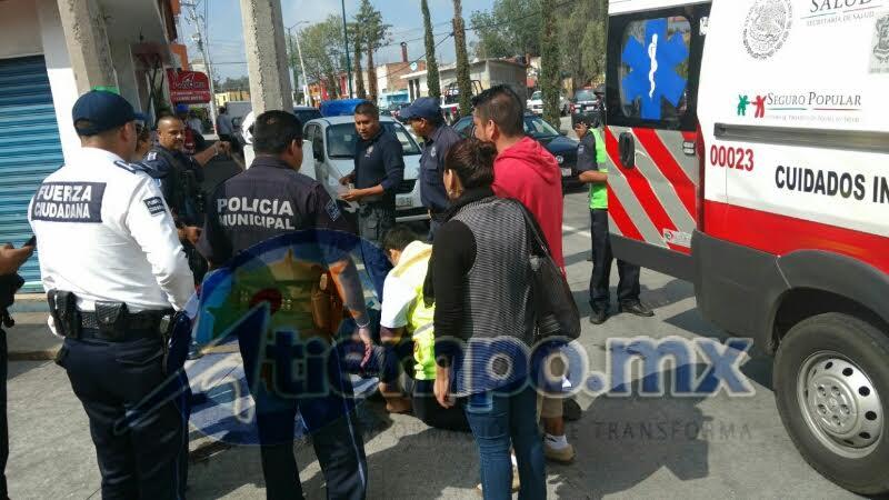El conductor del automóvil fue requerido y trasladado ante las autoridades para deslindar responsabilidades (FOTOS: FRANCISCO ALBERTO SOTOMAYOR)