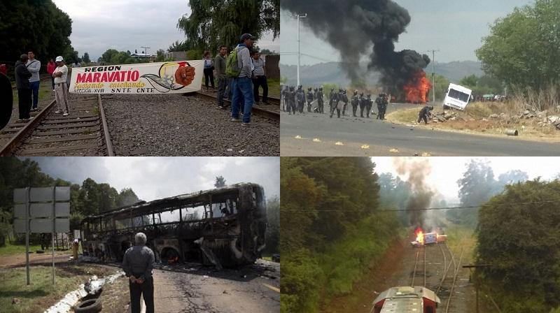 Si no queremos que conviertan a Michoacán en otro Oaxaca, en algún momento se tiene que empezar