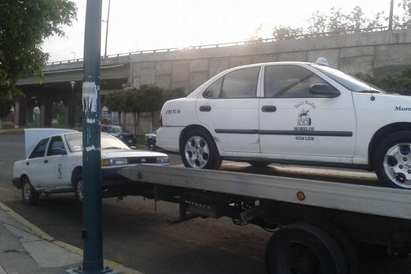 Se pudo constatar que varias de las unidades inspeccionadas fueron aseguradas (FOTO: ALEJANDRA ORTEGA)