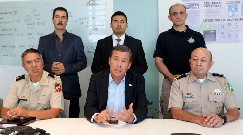 El gobernador, Miguel Márquez, destacó el trabajo de los diferentes órdenes de gobierno por la paz y tranquilidad de las familias guanajuatenses
