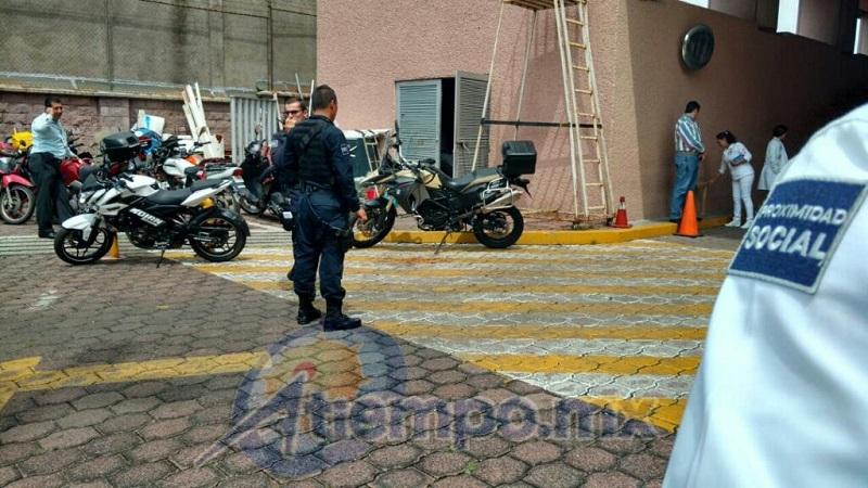 """Pese a que le dispararon, el abogado alcanzó a huir y refugiarse en el Palacio de Justicia """"José María Morelos y Pavón"""" (FOTOS: FRANCISCO ALBERTO SOTOMAYOR)"""