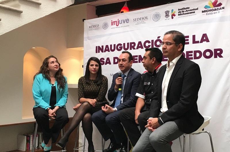 El titular de la Sedeco celebró que Michoacán sea pionero en la instalación de la Casa del Emprendedor