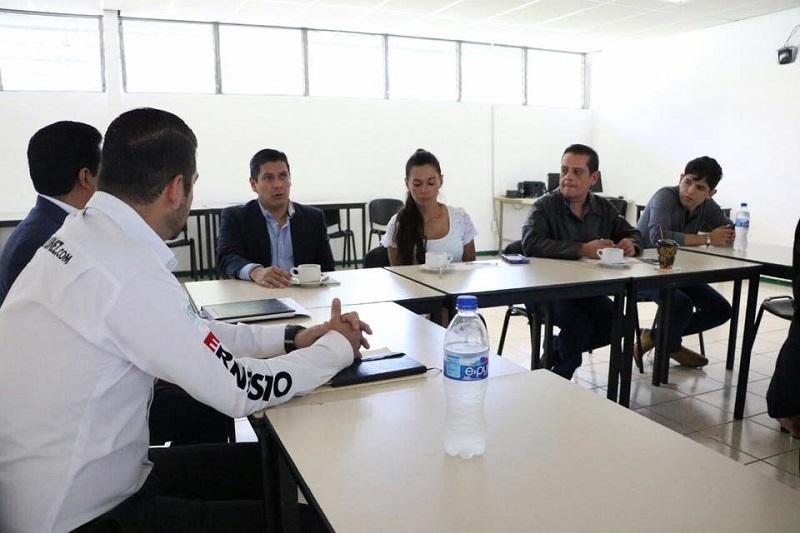 Núñez Aguilar comentó que participará con el comité de vinculación del Conalep 1 para continuar apoyando proyectos que fortalezcan la preparación académica de los jóvenes