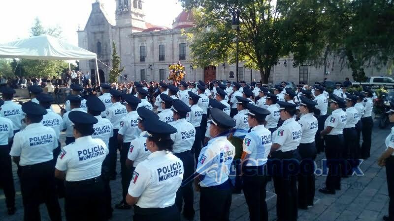Asimismo, adelantó que este año se erogarán 19 millones de pesos del Programa Nacional de Prevención del Delito para la capital michoacana (FOTOS: MARIO REBOLLAR)