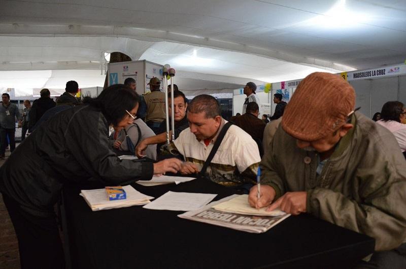 En la más reciente feria realizada, destacó Soto Sánchez, participaron 17 empresas de la ciudad de Morelia, así como cuatro de los municipios de Pátzcuaro y Zamora, ofertando 507 vacantes dirigidas a grupos vulnerables