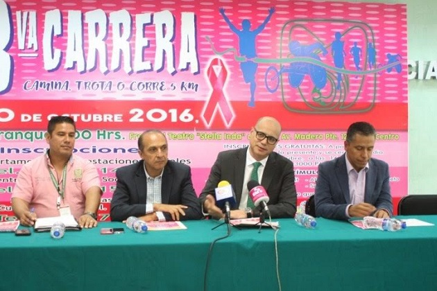 """Este evento se realizará en el marco del mes de la lucha contra el cáncer de mama y como parte de la campaña """"Mi lucha es rosa"""""""