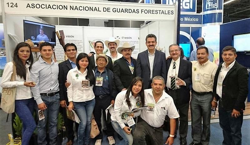 Luna García participa en la Expo Forestal México 2016 que se realiza en Guadalajara