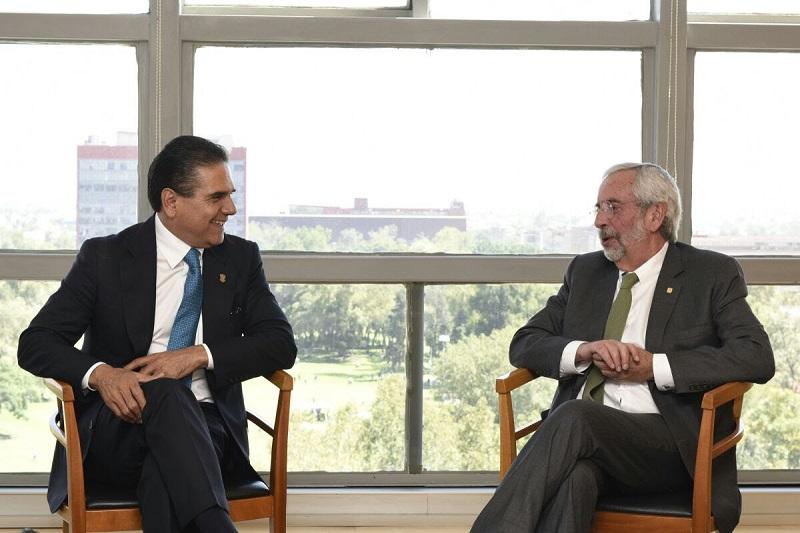 El gobernador compartió las estrategias que su administración emprende para abrir más espacios al desarrollo profesional de las y los michoacanos