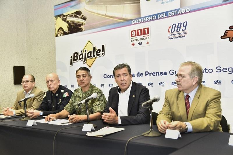 """Márquez Márquez anunció que en este final de año se reforzarán las campañas """"Bájale"""" y """"Cuélgale a la Extorsión"""""""